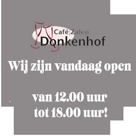 Welkom bij Café | Zalen Donkenhof