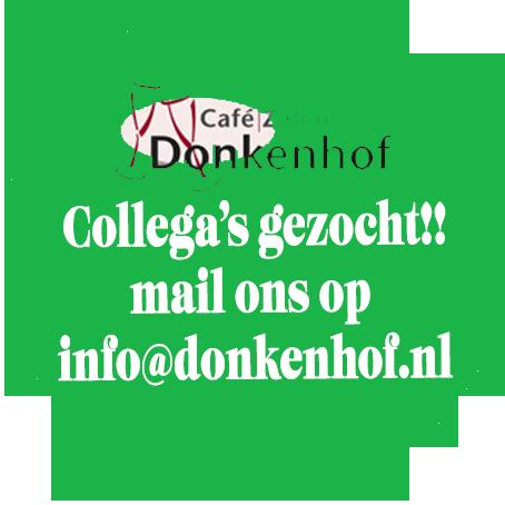 Welkom bij Café   Zalen Donkenhof